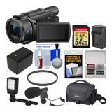 Sony Handycam Fdr-ax53 Wi-fi 4k Ultra Hd Videocamara De La C