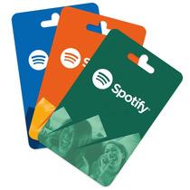 Promocion Tarjeta De Regalo Spotify 1 Mes