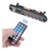 Módulo Reproductor Mp3 Usb/micro Sd  Con Bluetooth  Radio Fm