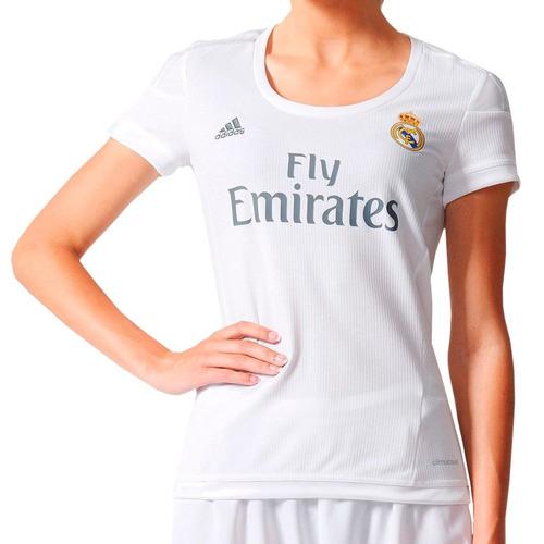 be7996c7fc6c4 Camiseta adidas Real Madrid Mujer