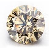 Diamante Laboratorio Ruso Champan 0.8 Ct Redondo 6.2 Mm U142