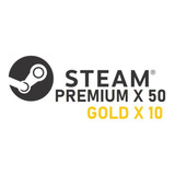 50 Steam Random Key + 10 Gold (entre 3.99$ A 9.99$ Usd)