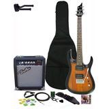 Combo De Guitarra Vorson Performance Amplificador Accesorios