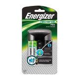 Cargador De Baterias Energizer Pro + Dos Baterías Aa Gratis