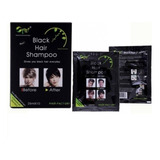 Shampoo Pinta Canas 10min Color Negro X 10 Unidades
