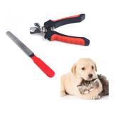 Cortauñas Para Perro O Gato Mascotas Con Lima Ganga