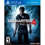 Uncharted 4 A Thief's End Ps4 Nuevo Original Domicilio - Jxr
