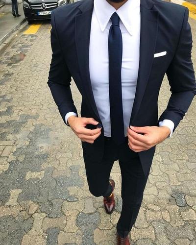 0e0f9ac91 Traje Vestido Paño Economico Hombre Promocion