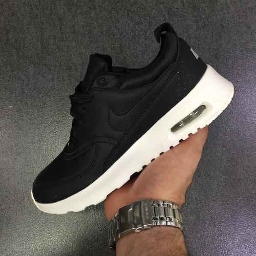 Tenis Zapatillas Nike Air Max Thea Negra Mujer Envio Gratis c8f6d42007c