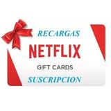 Netflix Code Gift Card 4k 2 Mes