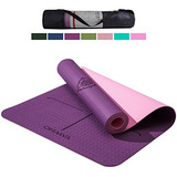 Yawho Yoga Mat Eco Friendly Material Sgs Certified Ingredien