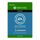 Xbox Ea Access 1 Mes Región Libre Código