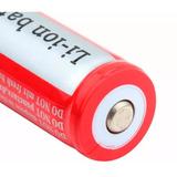 Batería 18650 Recargable Litio Ion 6800 Mah