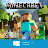 Minecraft Windows 10 Edition [pc]  | Codigo |