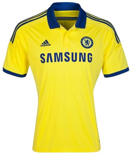 67d95ca941 Camiseta Chelsea Visitante 2014 2015 Original