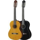 Guitarra Acústica Yamaha C40 Negra Estuche Método. Citimusic