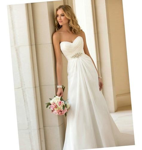 77f204bd Vestido De Novia Nuevo Blanco Y Blanco Ivory