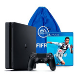Consola Playstation 4 Slim 1tb Con Juego Fifa 19 Ps4 Tula