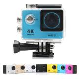 Cámara Video Acción 4k Uhd Wifi, 30 Mts, Fotos 16 Mpx + Obsq