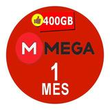 Cuentas Premium Mega 30 Dias 1 Mes 400gb Envio Inmediato