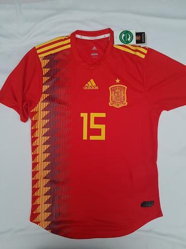 134a0b1ac51dd Camiseta de fútbol selección de españa mundial rusia jpg 375x500 Mercado  libre camiseta espana rusia 2018