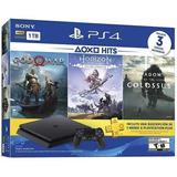 Consola Ps4  1tb Bundle Hits Incluye 3 Juegos Y Plus Nueva