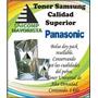 ** Nuevo ** Toner Polvo Panasonic
