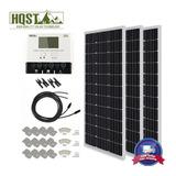 Kit De Panel Solar Mono De 300 Vatios 300w 12v De Sistema D