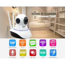 Camara Ip Robotica 360 Grados Audio Doble Via, Wifi Ipc-z06h