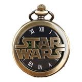 Reloj De Bolsillo Star Wars - Guerras De La Galaxia
