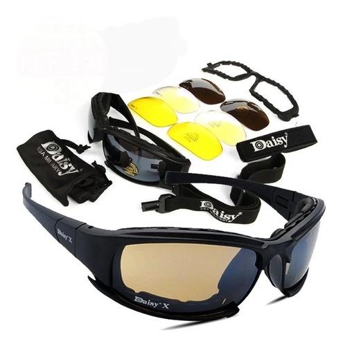 3589321dd1 Gafas De Sol Deportivas, Militares, Moto, Ciclismo Daisy X7