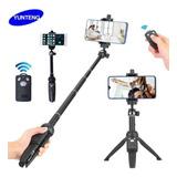 Tripode Para Celular Selfie Stick + Control Fotos Yunteng