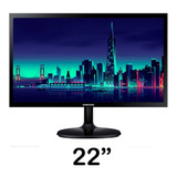 Monitor Samsung 22 Full Hd Hdmi Vga Ls22f350fhlxzl 22
