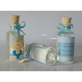 Botellas 30ml Agua Bendita Moño Personalizadas Recordatorios