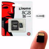 Memoria Micro Sd Kingston 8gb Clase 10 Kingston+ Adaptador