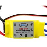 Controlador De Velocidad 30a Esc Bec 5/ Para Motor Brushless