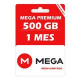 Mega Pro 500 Gb 30 Días, Envió Inmediato Cuenta Oficial M L