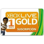 Xbox Live Gold 1 Mes De Suscipción