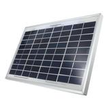 Panel Solar Policristalino 10w/12v, Cable Y Plug