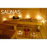 Saunas De Lujo En Madera, Turcos, Jacuzzis, Zonas Húmedas.