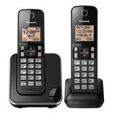 Telefono Panasonic Inalámbrico Doble Altavoz Identificador