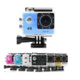 Cámara De Video Sumergible Sports 4k Wifi + Accesorios