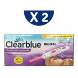 Prueba De Ovulacion Clearblue Digital Exacta 20 Uds. Oferta!