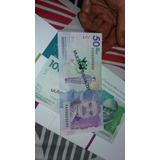 Nueva Familia De Billetes De Colombia Specimen Sin Circular