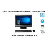 Todo En Uno Hp 600 G1 /intel Core I7 4ta / 4gb / 500 / 21.5