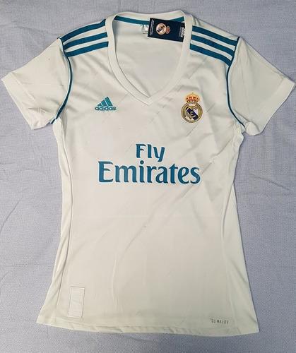 78c1560423243 Camiseta Real Madrid Cf Para Mujer Temporada 2017   2018