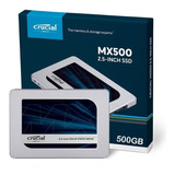 Disco Estado Solido Ssd 500gb Crucial Mx500 2.5 Nuevo @pd