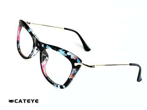 b95c9045d1 Cateye® Cleopatra Candy Black 49-19mm Montura Óptica Opt0337