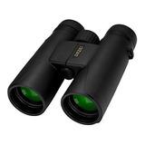 Omzer 10x42 Binoculares Compactos Hd De Alta Potencia Con Le