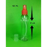 Envase Splash Convexo Atomizador 120ml X 100